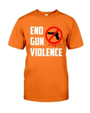 Orange Gun Violence Awareness Classic T-Shirt front
