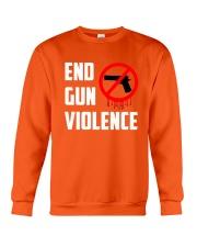Orange Gun Violence Awareness Crewneck Sweatshirt thumbnail