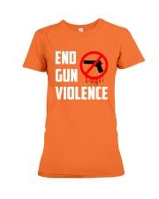 Orange Gun Violence Awareness Premium Fit Ladies Tee thumbnail
