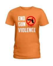 Orange Gun Violence Awareness Ladies T-Shirt thumbnail