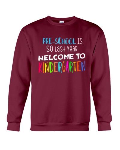 PRE-SCHOOL IS SO LAST YEAR  -TEAM SHIRT