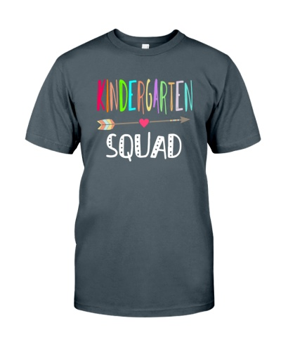 KINDERGARTEN SQUAD -Team Shirt
