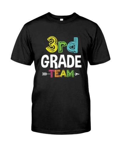 3RD - THIRD- GRADE TEAM SHIRT