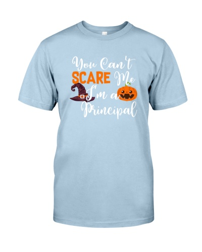 YOU CAN'T SCARE ME - PRINCIPAL  HALLOWEEN
