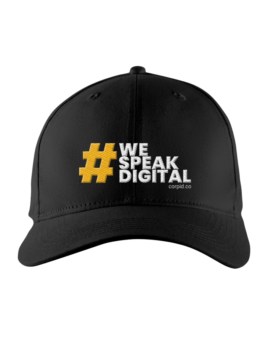 We Speak Digital Embroidered Hat