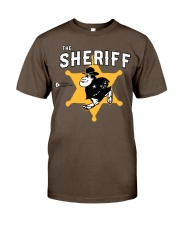 The Sheriff Shirt Premium Fit Mens Tee front