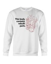 Open Heart Surgery - Rebuilt Parts Crewneck Sweatshirt thumbnail