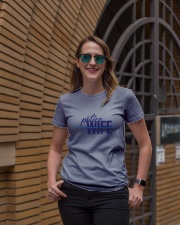 Police Wife - Thin Blue Line Ladies T-Shirt lifestyle-women-crewneck-front-2