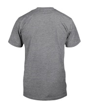 Blue Grey Great Dane Bun Blonde Hair Woman Classic T-Shirt back