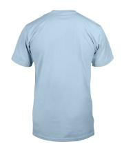 Black Boxer Blonde Hair Man 4th July Classic T-Shirt back