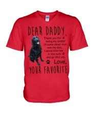 Labrador lovers  V-Neck T-Shirt thumbnail