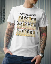 They Show All Kinds Classic T-Shirt lifestyle-mens-crewneck-front-6