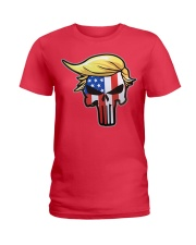 Trump Punisher - Trump 2020 Ladies T-Shirt thumbnail