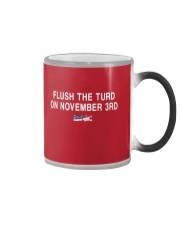Flush the Turd  on November 3rd  Color Changing Mug thumbnail