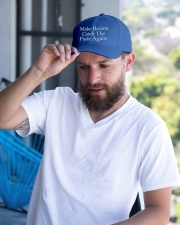 Make Racists Catch The Fade Again Embroidered Hat garment-embroidery-hat-lifestyle-05
