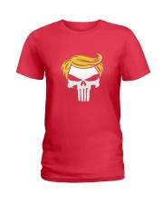 Trump Punisher Ladies T-Shirt thumbnail