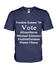 Freedom Summer 64 V-Neck T-Shirt thumbnail