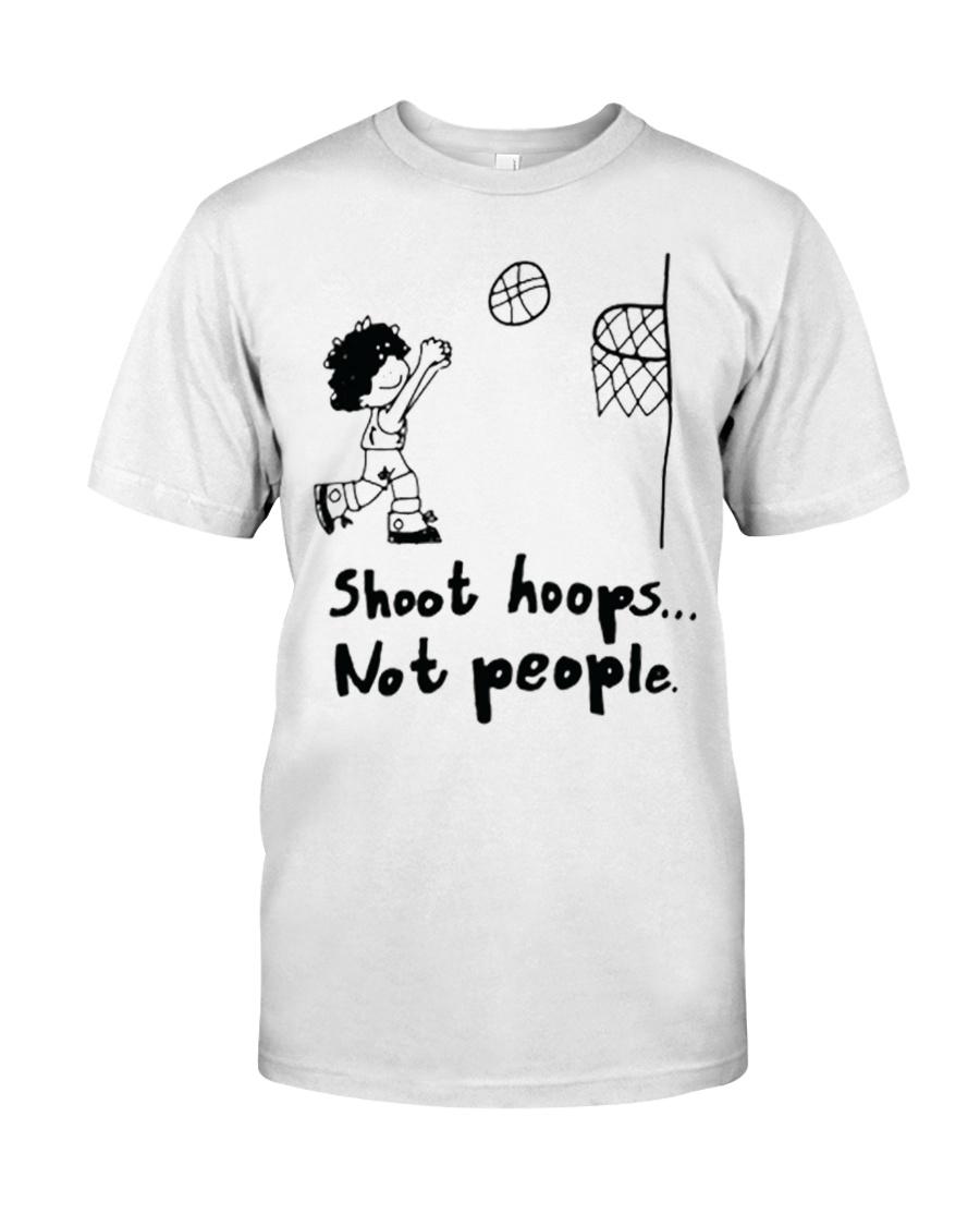 Shoot Hoops Not people Classic T-Shirt