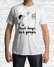 Shoot Hoops Not people Classic T-Shirt lifestyle-mens-crewneck-front-1