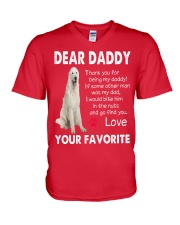 just for Great Pyrenees lovers  V-Neck T-Shirt thumbnail