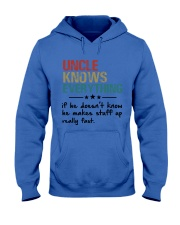 Uncle knows everything Hooded Sweatshirt thumbnail
