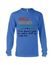 Uncle knows everything Long Sleeve Tee thumbnail