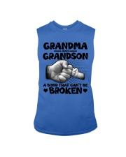 Grandma and Grandson A bond that can't be broken Sleeveless Tee thumbnail