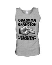 Grandma and Grandson A bond that can't be broken Unisex Tank thumbnail