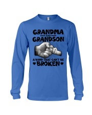 Grandma and Grandson A bond that can't be broken Long Sleeve Tee thumbnail