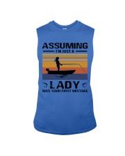 I'm just a lady loves FISHING Sleeveless Tee thumbnail
