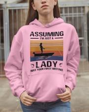 I'm just a lady loves FISHING Hooded Sweatshirt apparel-hooded-sweatshirt-lifestyle-07