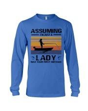 I'm just a lady loves FISHING Long Sleeve Tee thumbnail