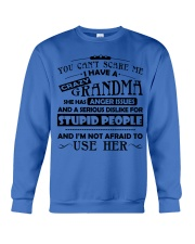 I have a crazy grandma Crewneck Sweatshirt tile