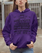 I have a crazy grandma Hooded Sweatshirt apparel-hooded-sweatshirt-lifestyle-07