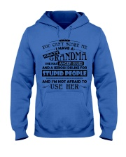 I have a crazy grandma Hooded Sweatshirt thumbnail