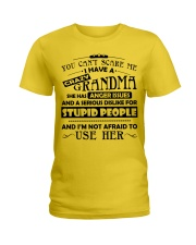 I have a crazy grandma Ladies T-Shirt thumbnail