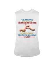 Grandma and granddaughter Best partner in crime Sleeveless Tee thumbnail