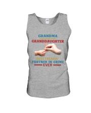 Grandma and granddaughter Best partner in crime Unisex Tank thumbnail