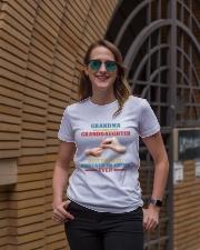 Grandma and granddaughter Best partner in crime Ladies T-Shirt lifestyle-women-crewneck-front-2