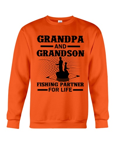 Grandpa and Grandson Fishing partner for life