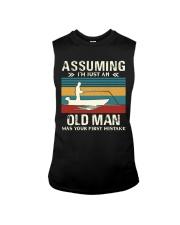 Assuming i'm just an old man love FISHING Sleeveless Tee thumbnail