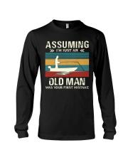 Assuming i'm just an old man love FISHING Long Sleeve Tee thumbnail