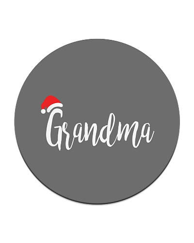 Grandma  Santa Hat Christmas Proud Grandparent