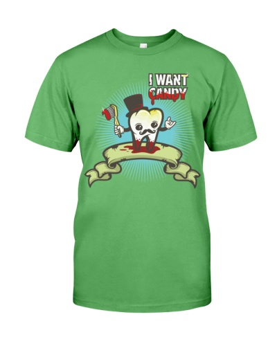i want candy  Mens Premium TShirt