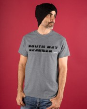 South Bay Scanner Logo Tees Classic T-Shirt apparel-classic-tshirt-lifestyle-front-89