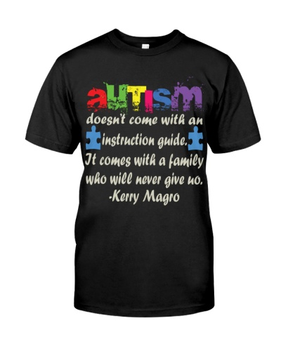 Autism Doesn't Come With An Instruction Guide