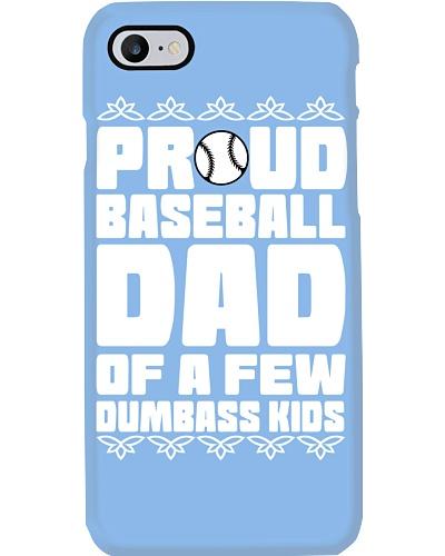 Proud Baseball Dad Of A few Dumbass Kids