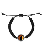 THAT FIREFIGHTER IS MY WORLD Cord Circle Bracelet thumbnail