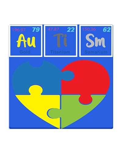 Autism Au-Ti-Sm Periodic Elements Spelling- Autism