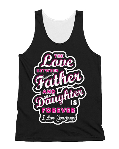 The Love Between Grandfather And Granddaughter is